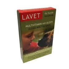 LAVET algás multivitamin 50 szem kutyák számára