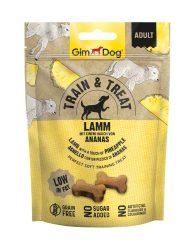 Kipróbálási  Akció : GimDog Train & Treat Lamm & Ananas snack 125g
