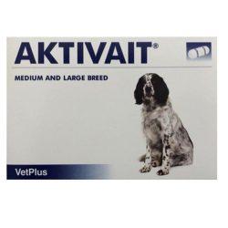 Aktivait medium large breed kutya kapszula 60 db , Macskáknak tilos adni !