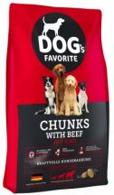Dogs Favorit Beef 15kg