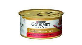 Bolti átvételre rendelhető :Bolti átvételre rendelhető :Gourmet Gold marha paradicsommal 85 gr.