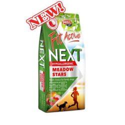 Bevezető Áron:  FitActive Next Meadow Stars Hypoallergenic Adult 15kg (nyúl,bárány,marha,rizs,alma) száraztáp - Ételallergiás kutyák részére