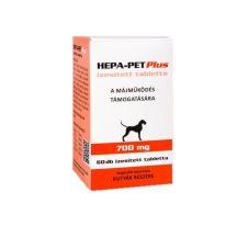 HEPA-PET Plus  ízesített tabletta 700mg. 60szem