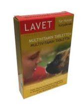 LAVET multivitamin 50 szem kutyák számára