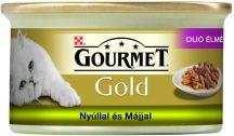 Bolti átvételre rendelhető :Gourmet Gold  Nyúllal és májjal duo 85g