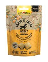 Kipróbálási Akció:GimDog Train & Treat Insekt & Sanddorn snack