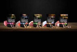 Profine Crunchy Cracker Pisztráng Zöldalga 150g