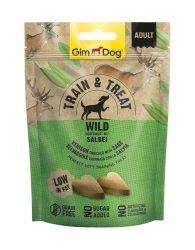 Kipróbálási Akció: GimDog Train & Treat Wild & Salbei snack 125g