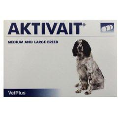Csomagpontra : Aktivait medium large breed kutya kapszula 60 db , Macskáknak tilos adni !