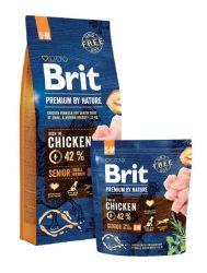 Brit Premium by Nature -  Senior Small-Medium 15kg