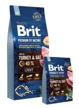 Brit Premium by Nature - Adult  Light 15kg
