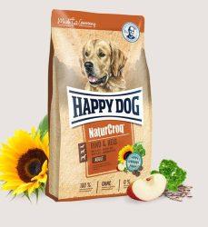 Ingyenes Szállítás : Happy Dog NaturCroq - Adult Rind & Reis 15kg